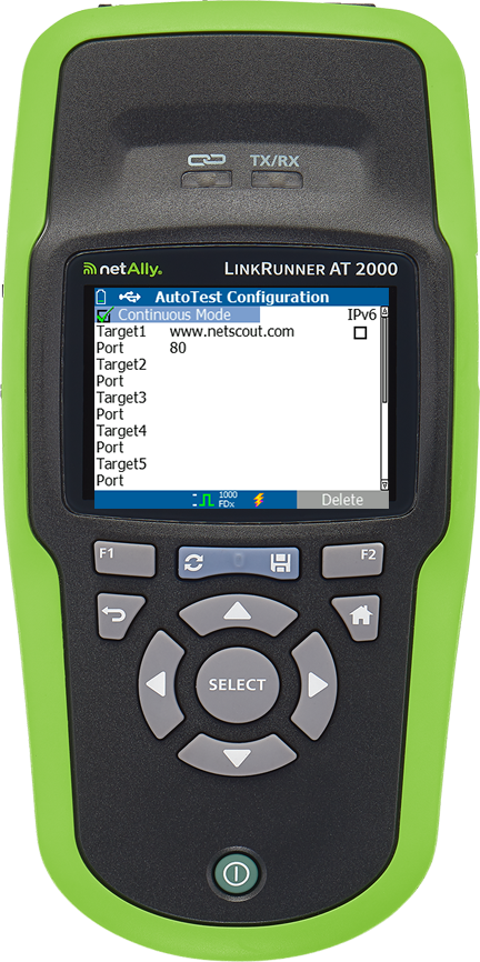 LinkRunner AT