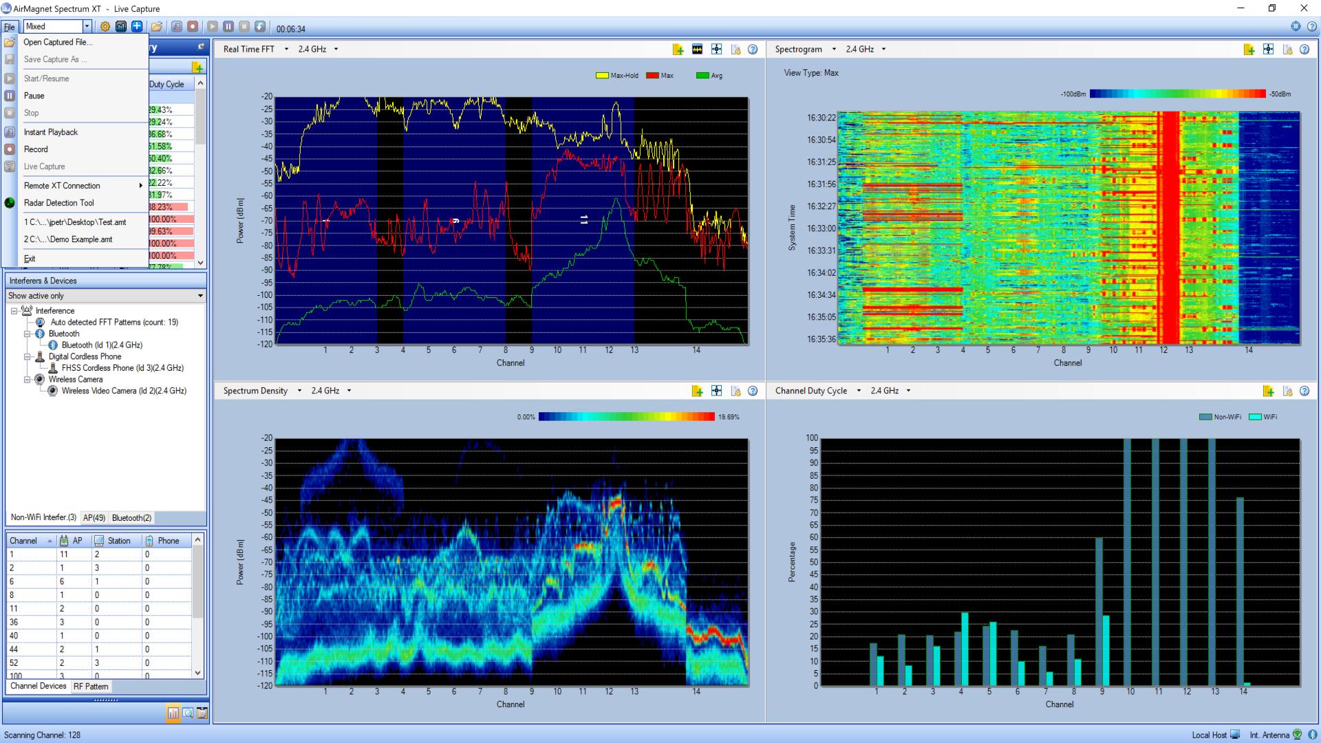 AirMagnet Spectrum XT