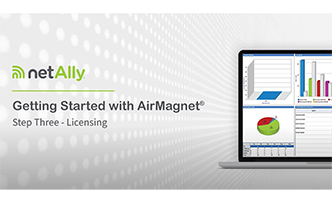 AirMagnet Installation Help - Launching and Licensing Your Product