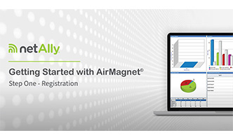 AirMagnet Installation Help - Registering Your Product