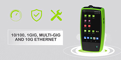 LinkRunner® 10G Advanced Ethernet Tester
