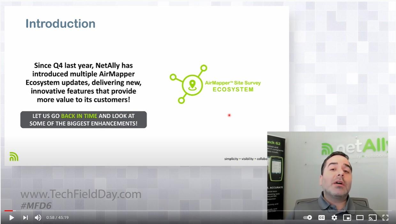 AirMapper Site Survey Product Demo MFD6