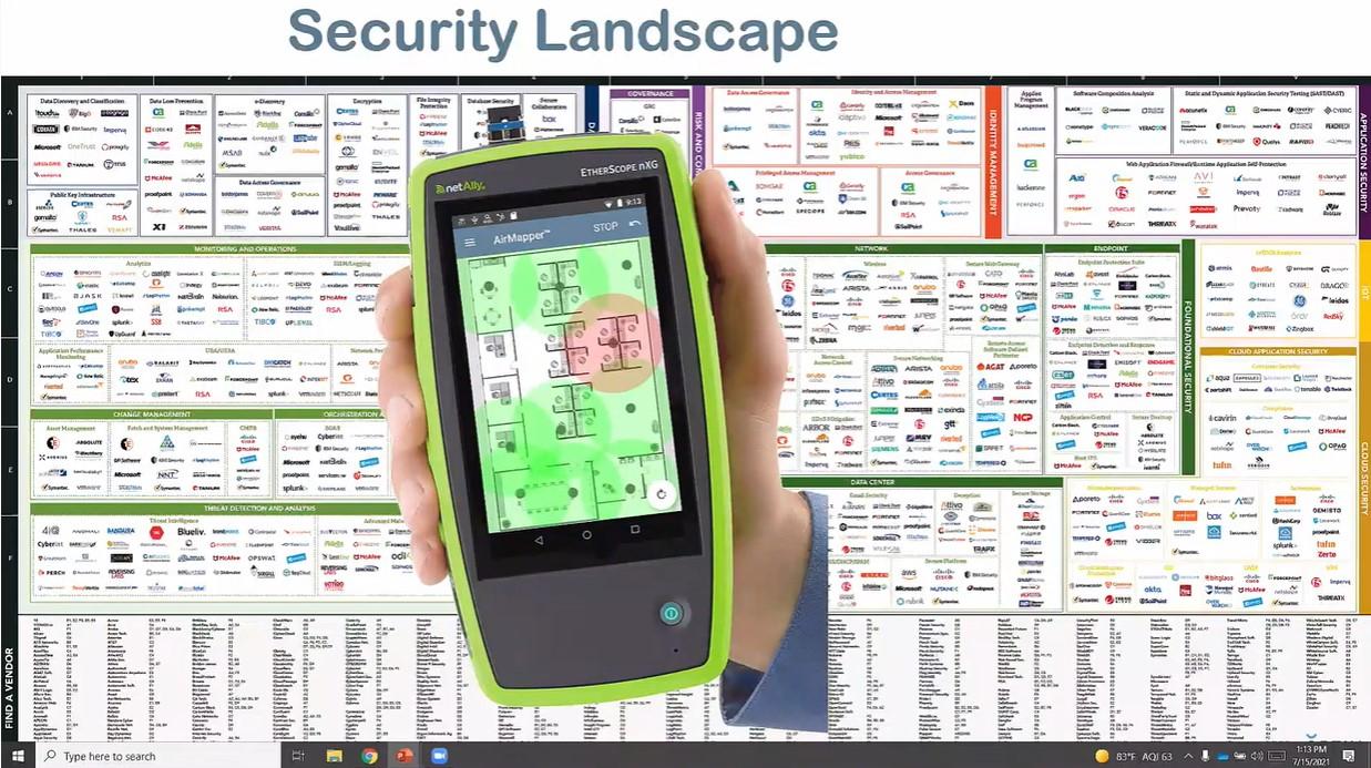 NetAlly Site Security Testing - MFD6